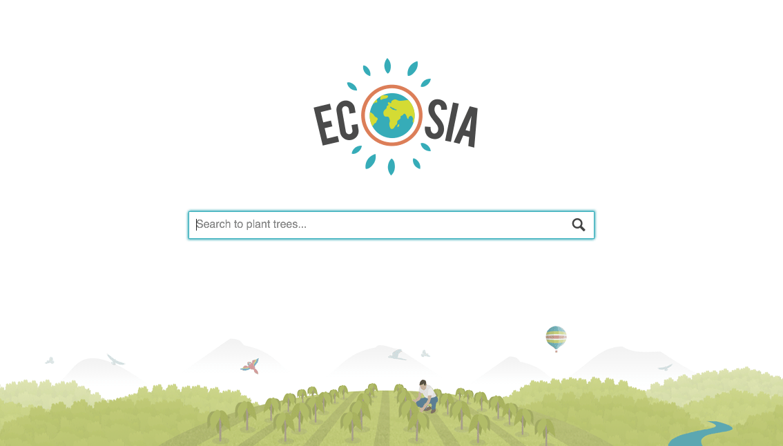 Ecosia: The sustainable search engine