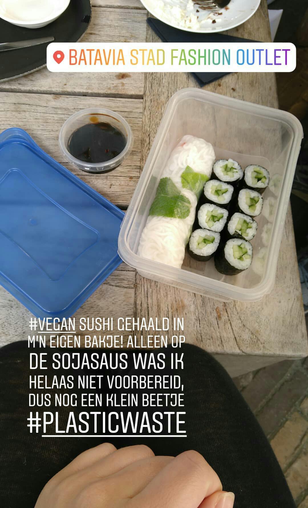 Weekoverzicht #49: Veganistische sushi in mijn eigen bakje opgehaald!