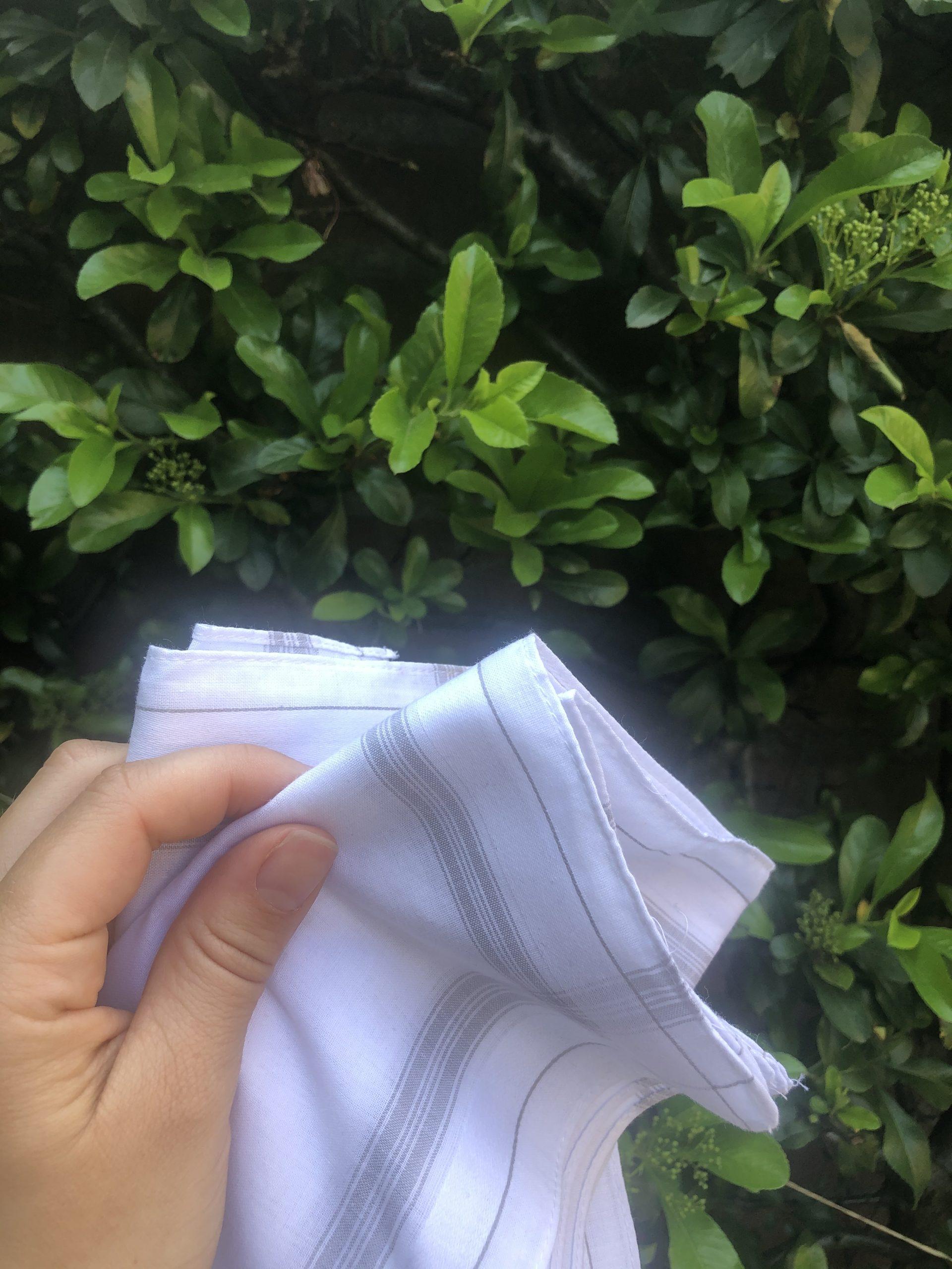 Zero waste handkerchiefs