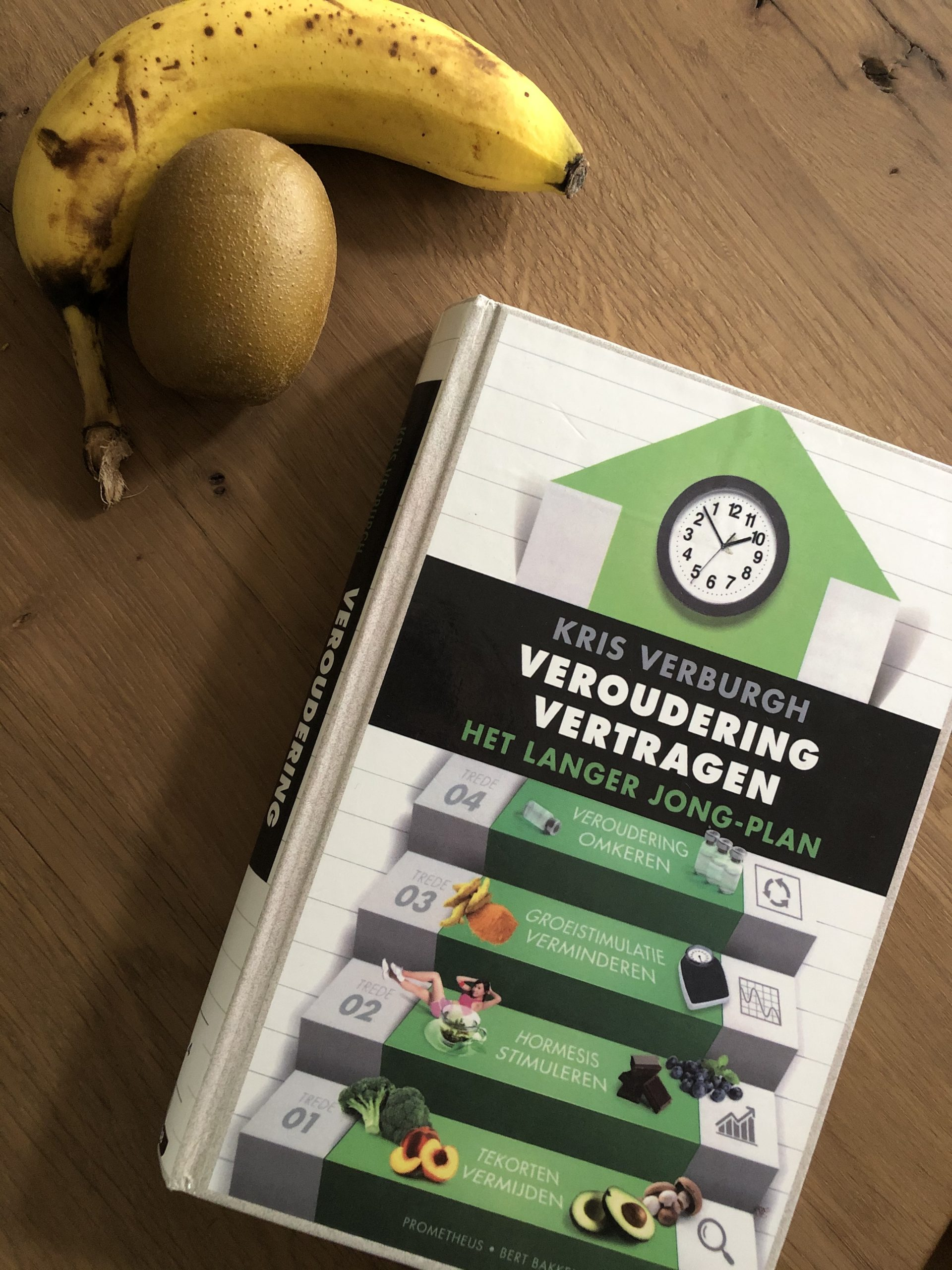 Book about longevity: Veroudering Vertragen (Dutch)