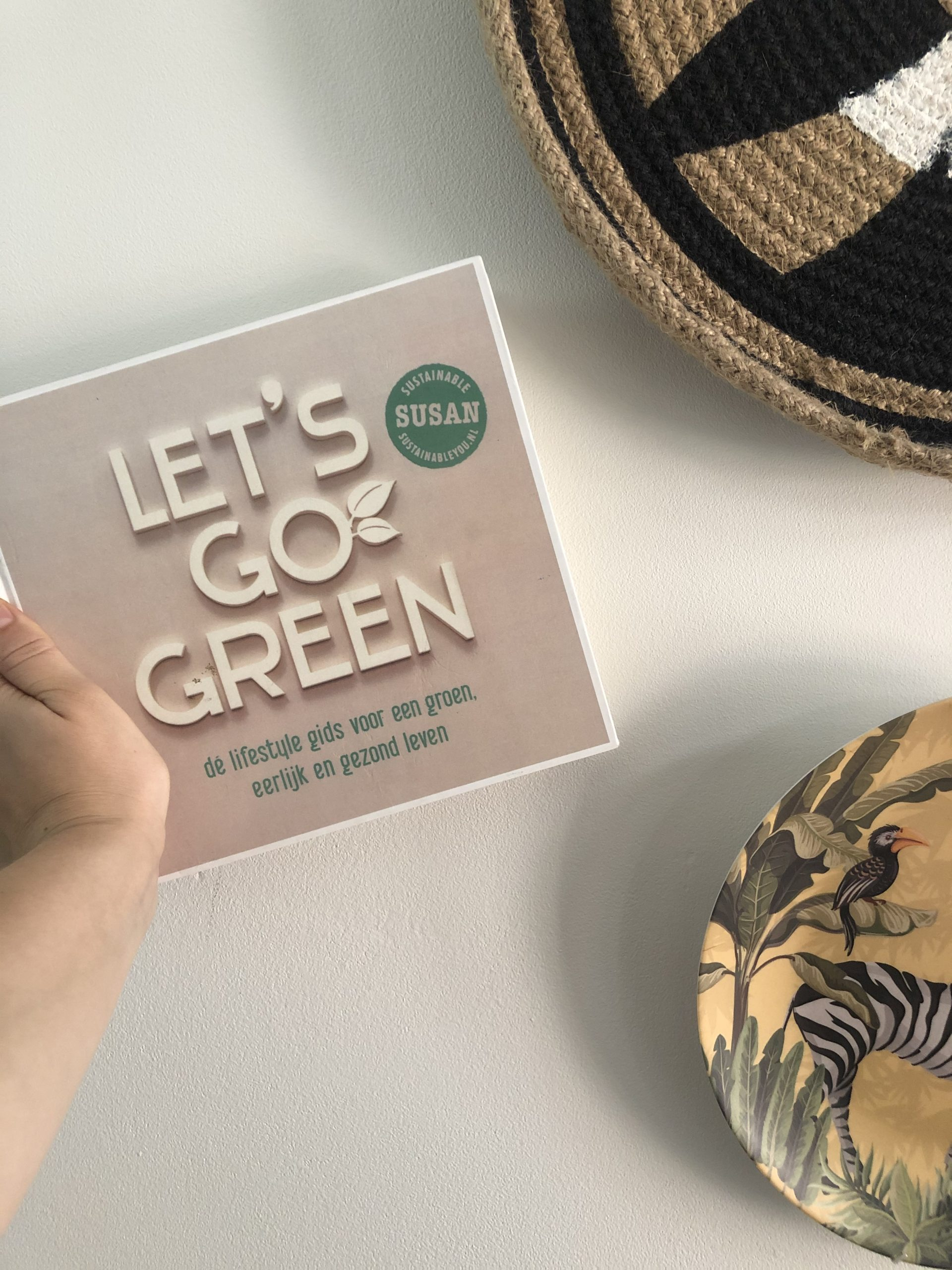 Book about a sustainable lifestyle: Let's Go Green